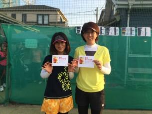 優勝 山川・浪川(みんなのテニス)