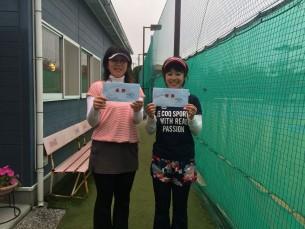 優勝 田島・田中(みんなのテニス)