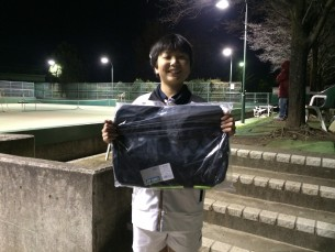 優勝  須田 悠仁(東京都テニス協会)