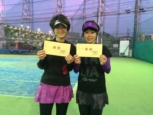 優勝  鎌田・田島(みんなのテニス)