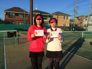 優勝  飯塚・斉藤(みんなのテニス)