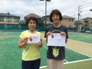 中山・海野(豊島区テニス連盟・フリー)