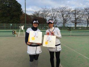 準優勝 森田・奥田(TOP氷川台)
