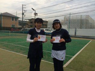 準優勝 小池・三ツ井(シンポウ)